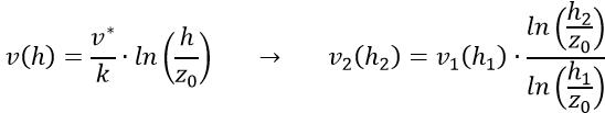 logarithmische Gesetz